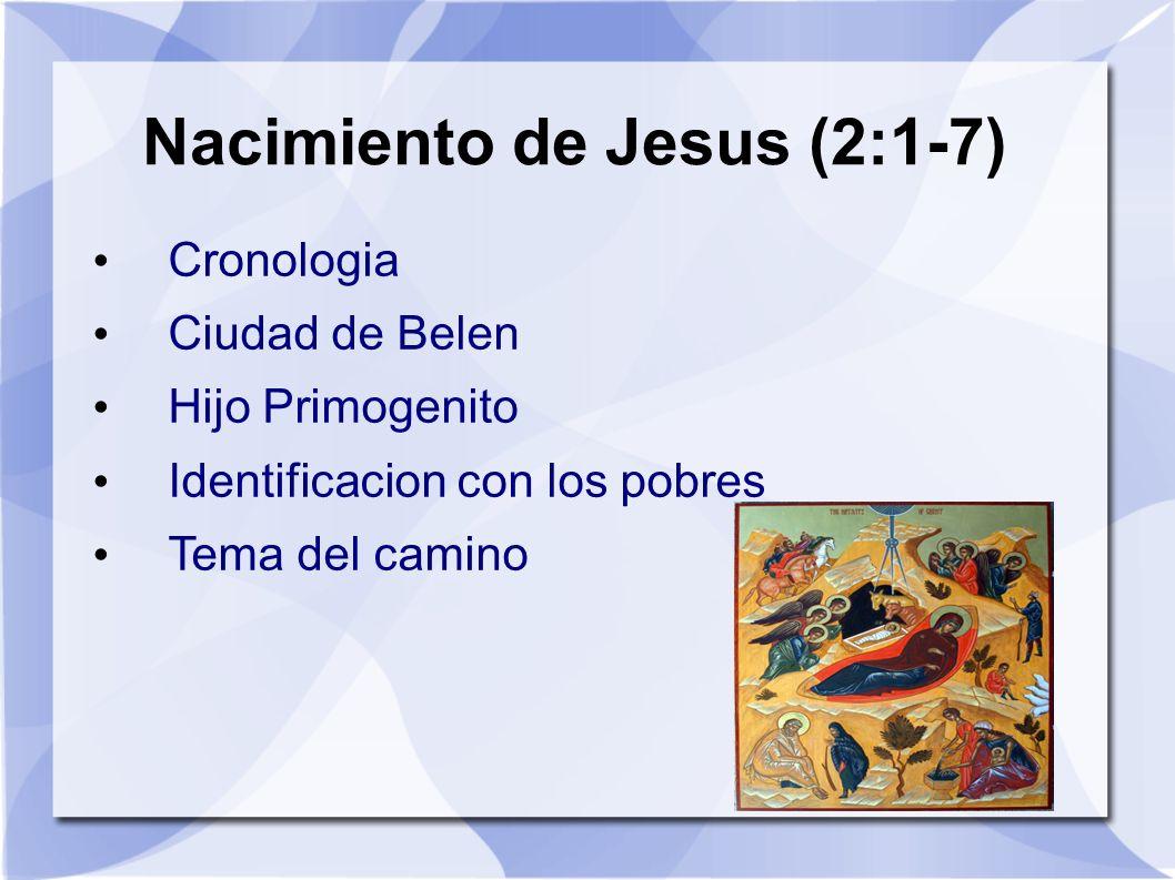 Nacimiento de Jesus (2:1-7)