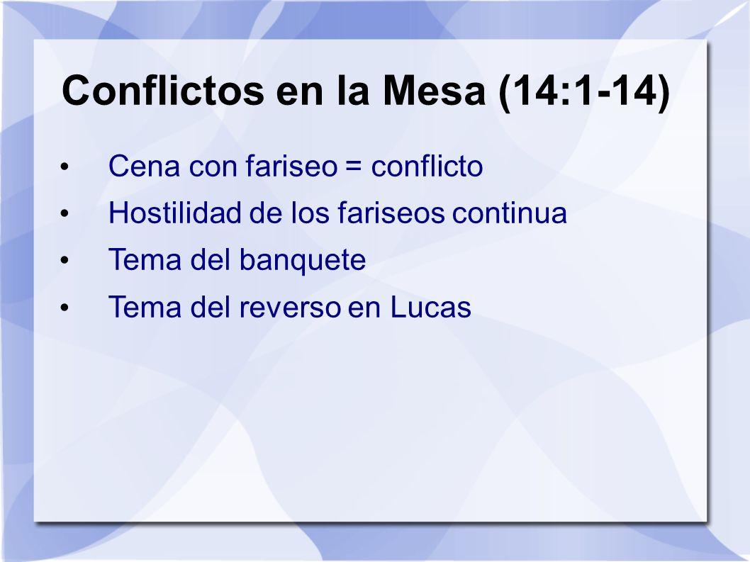 Conflictos en la Mesa (14:1-14)