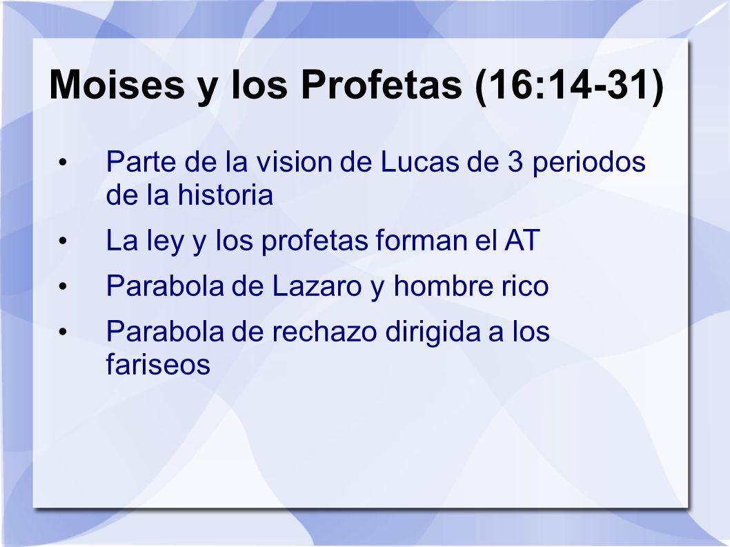 Moises y los Profetas (16:14-31)