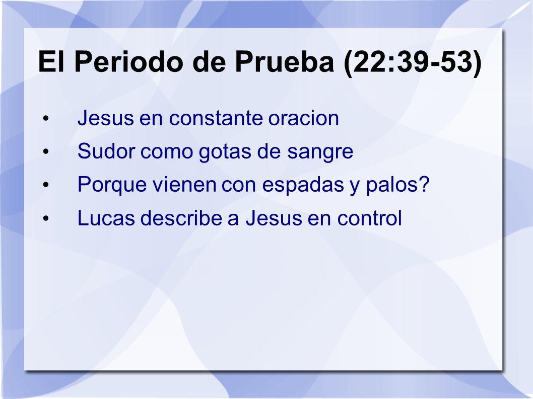 El Periodo de Prueba (22:39-53)