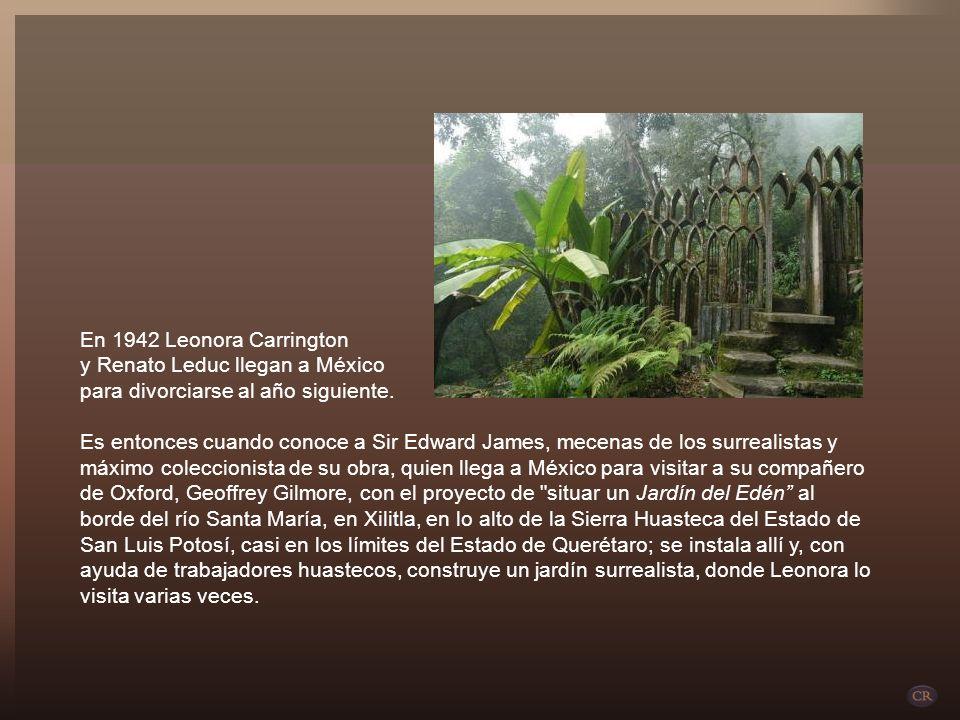 En 1942 Leonora Carrington y Renato Leduc llegan a México. para divorciarse al año siguiente.