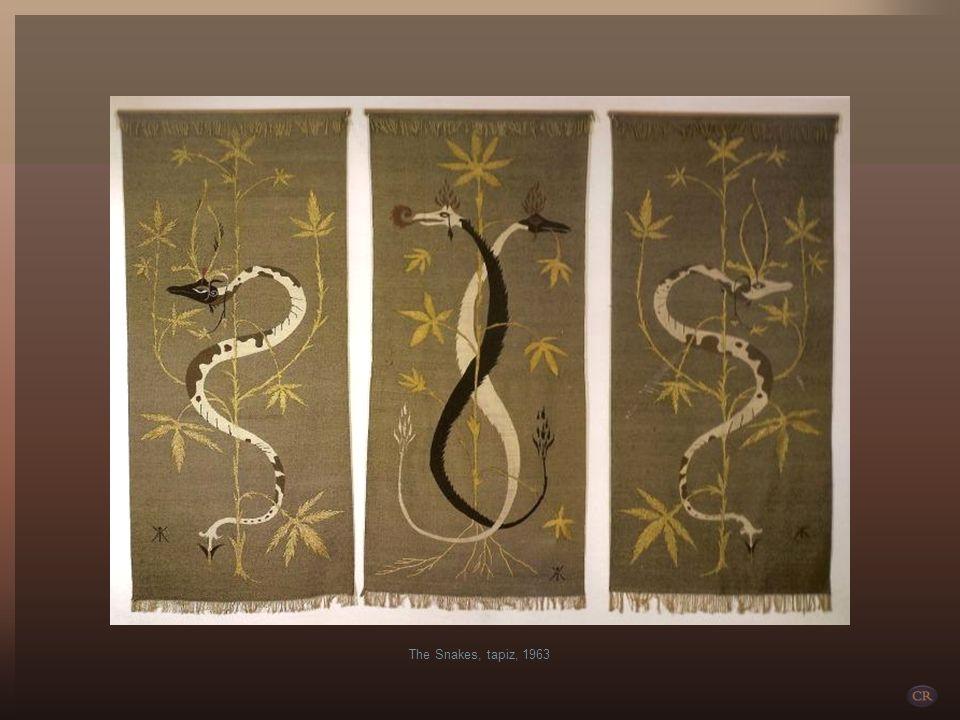 The Snakes, tapiz, 1963