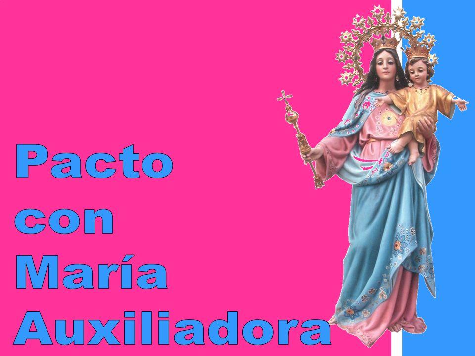 Pacto con María Auxiliadora
