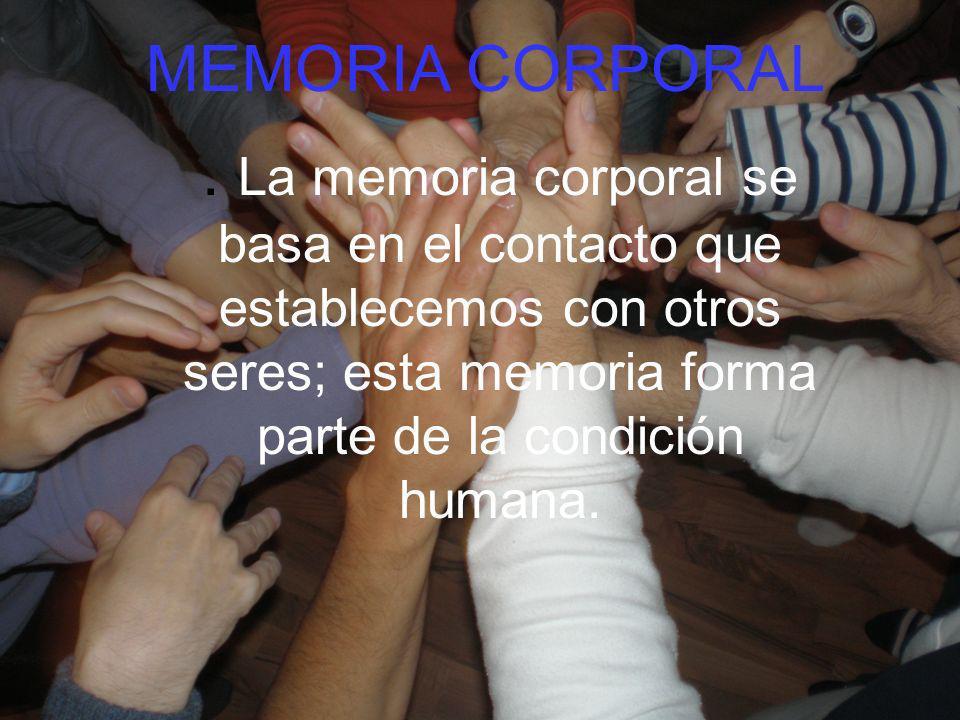MEMORIA CORPORAL .