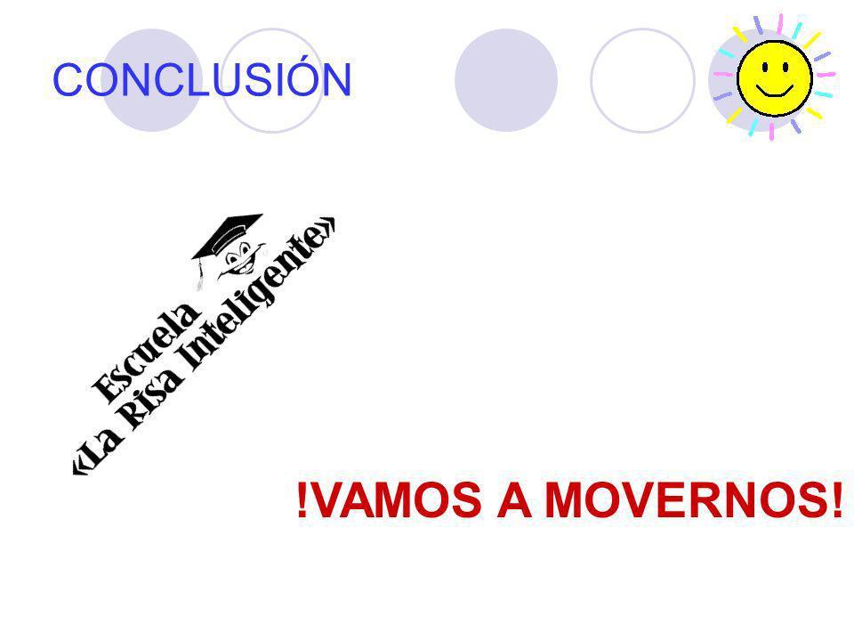 CONCLUSIÓN !VAMOS A MOVERNOS!
