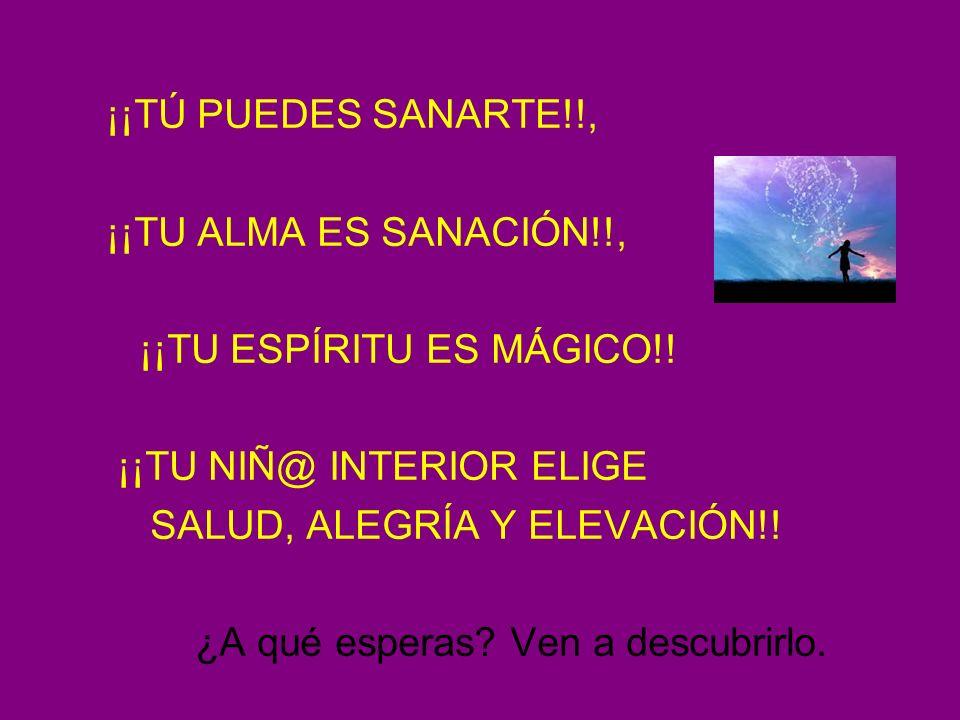 CENTRO URANIUM ¡¡TÚ PUEDES SANARTE!!, ¡¡TU ALMA ES SANACIÓN!!,