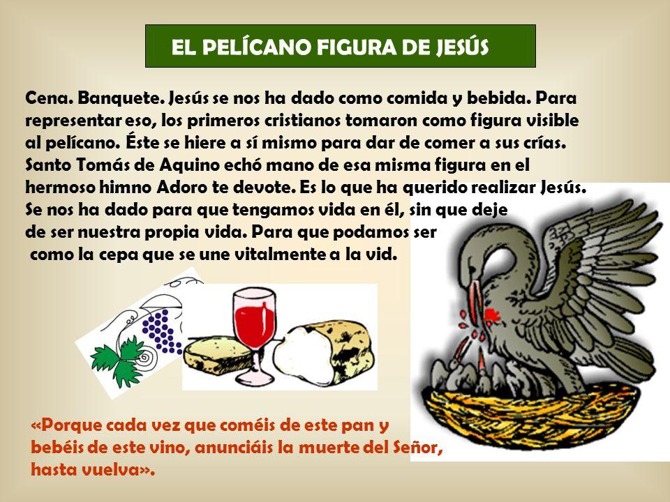 EL PELÍCANO FIGURA DE JESÚS