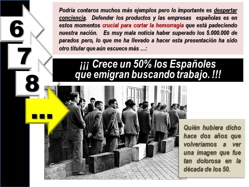 ¡¡¡ Crece un 50% los Españoles que emigran buscando trabajo. !!!