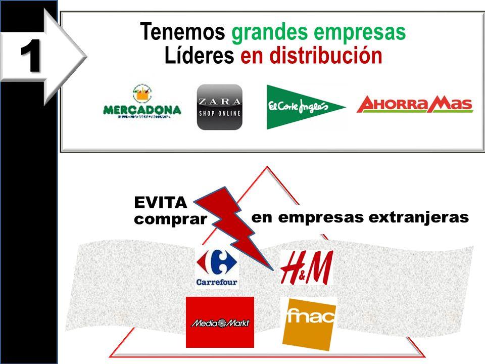 Tenemos grandes empresas Líderes en distribución