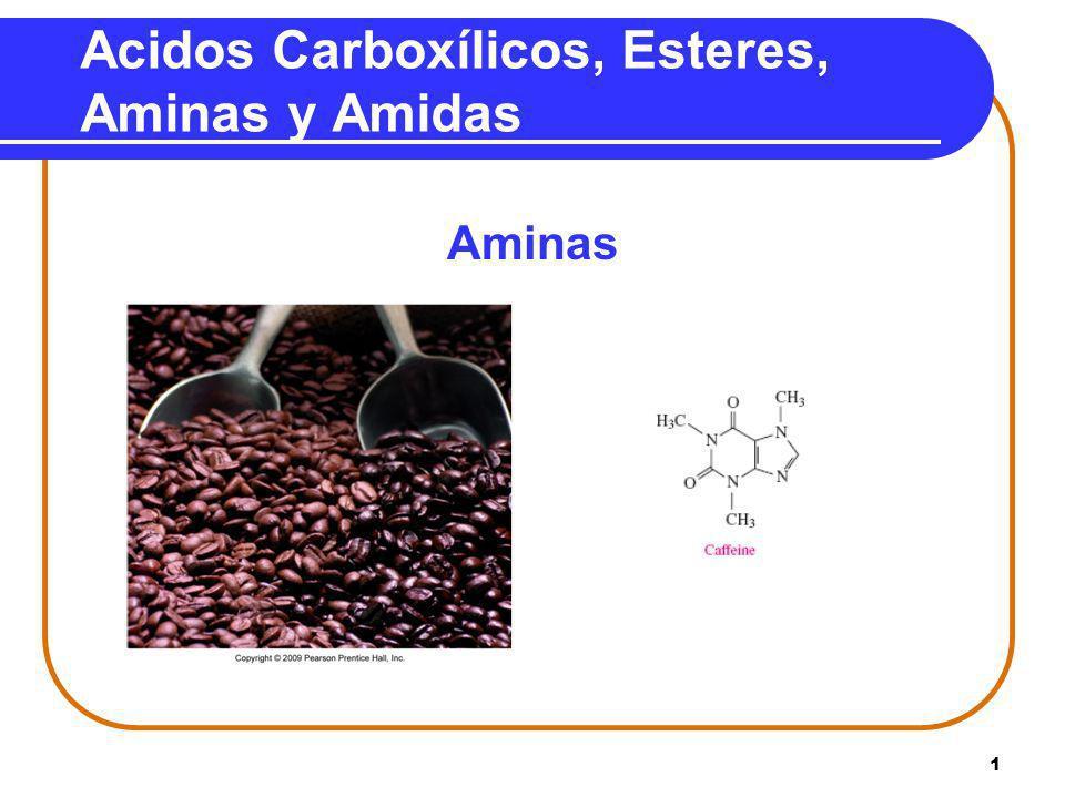 Acidos Carboxílicos, Esteres, Aminas y Amidas