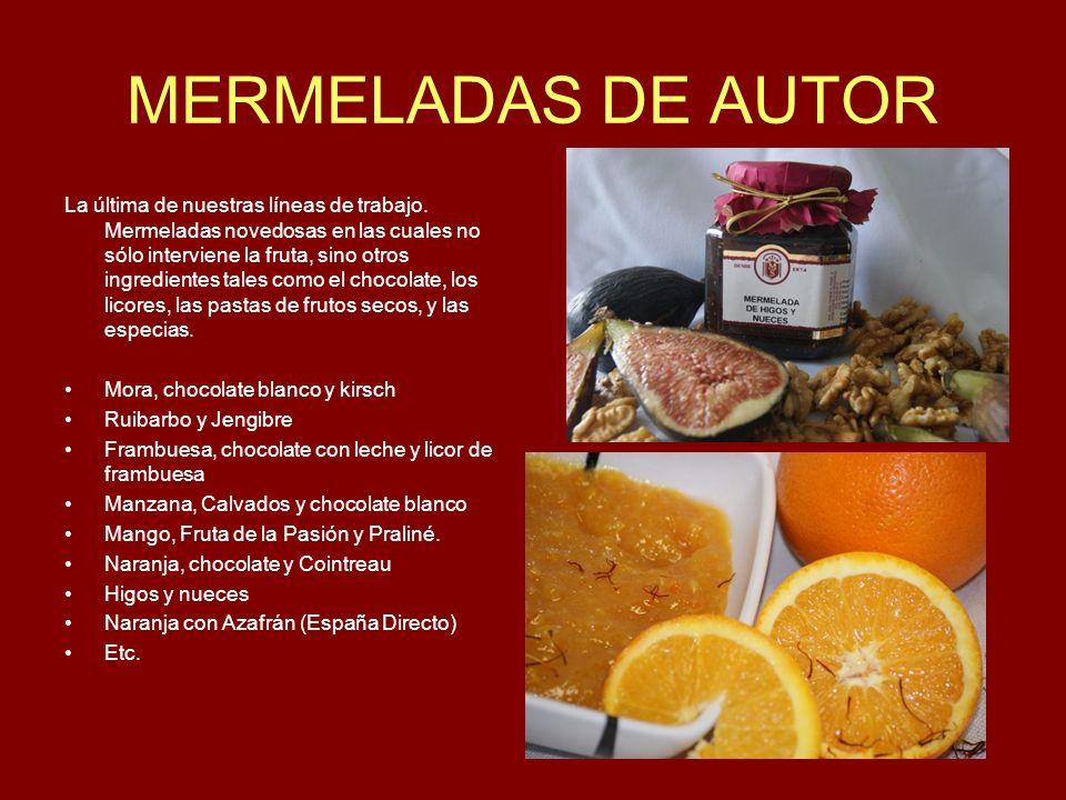 MERMELADAS DE AUTOR