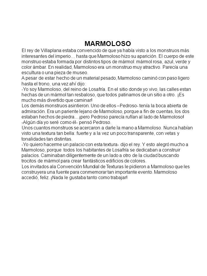 MARMOLOSO