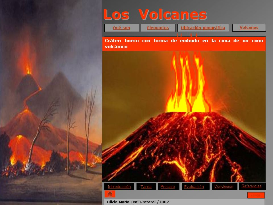 Los Volcanes La Ciencia que estudia los volcanes