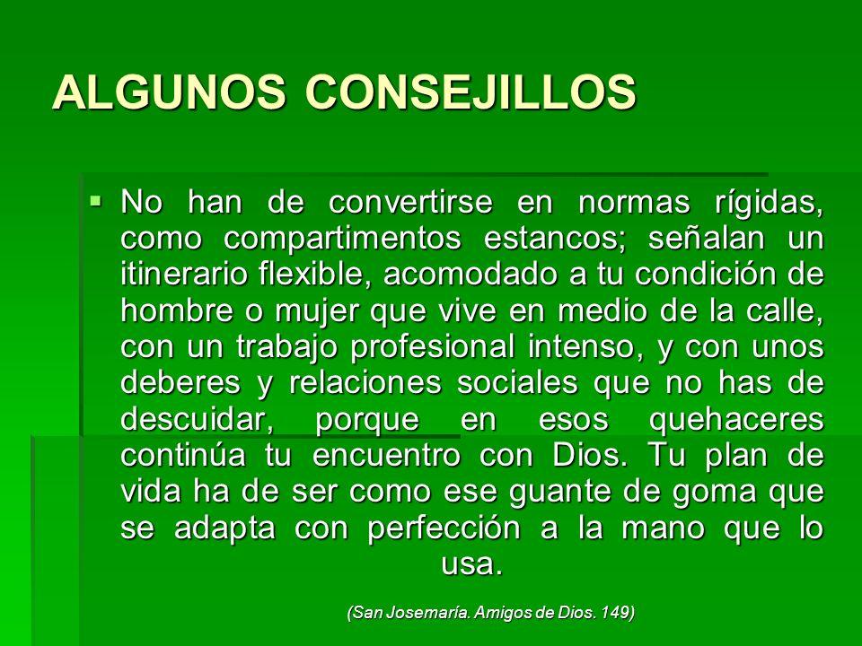 ALGUNOS CONSEJILLOS
