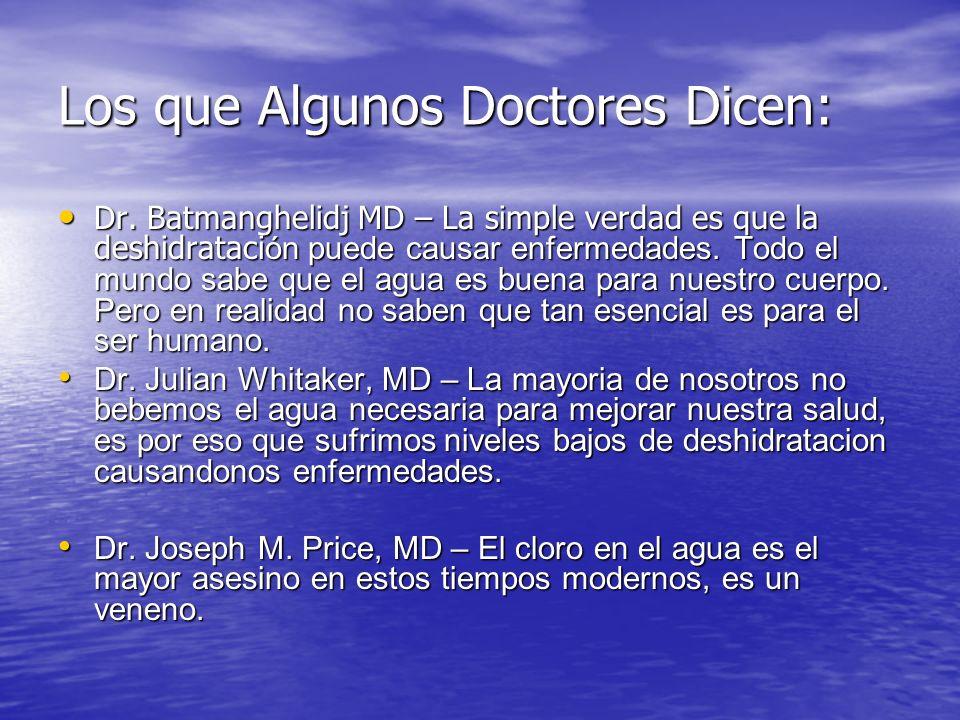 Los que Algunos Doctores Dicen: