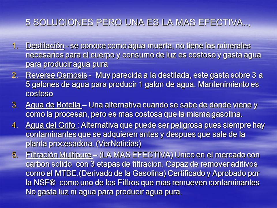 5 SOLUCIONES PERO UNA ES LA MAS EFECTIVA..,