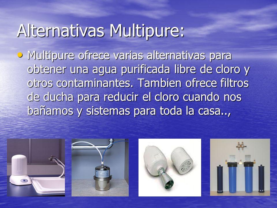 Alternativas Multipure: