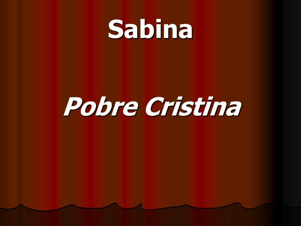 Sabina Pobre Cristina