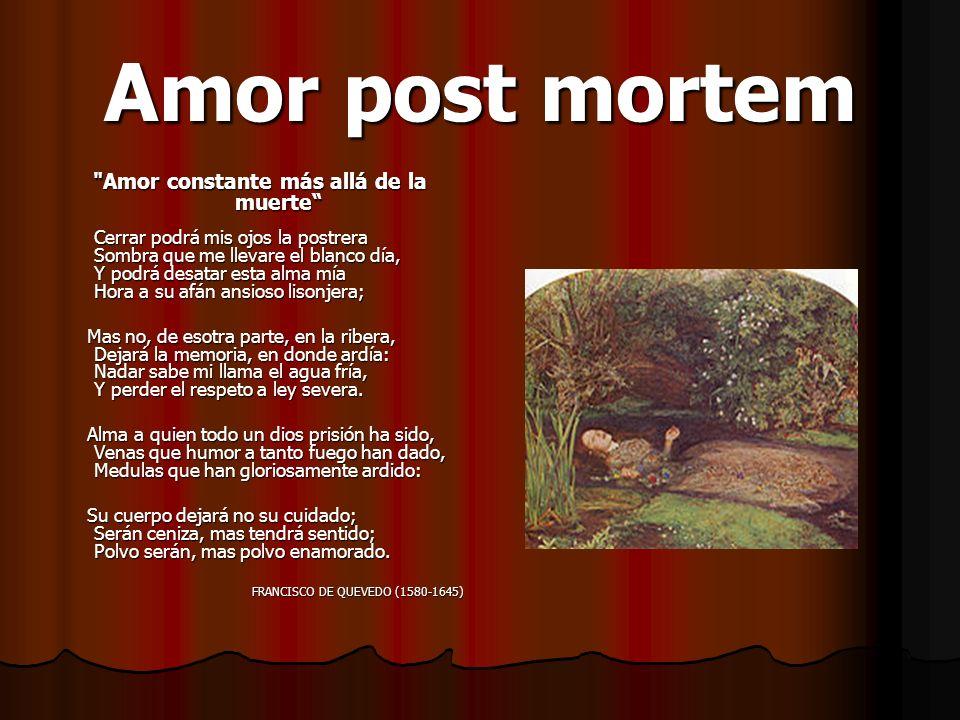 Amor constante más allá de la muerte