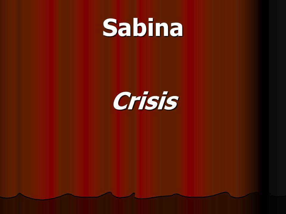 Sabina Crisis