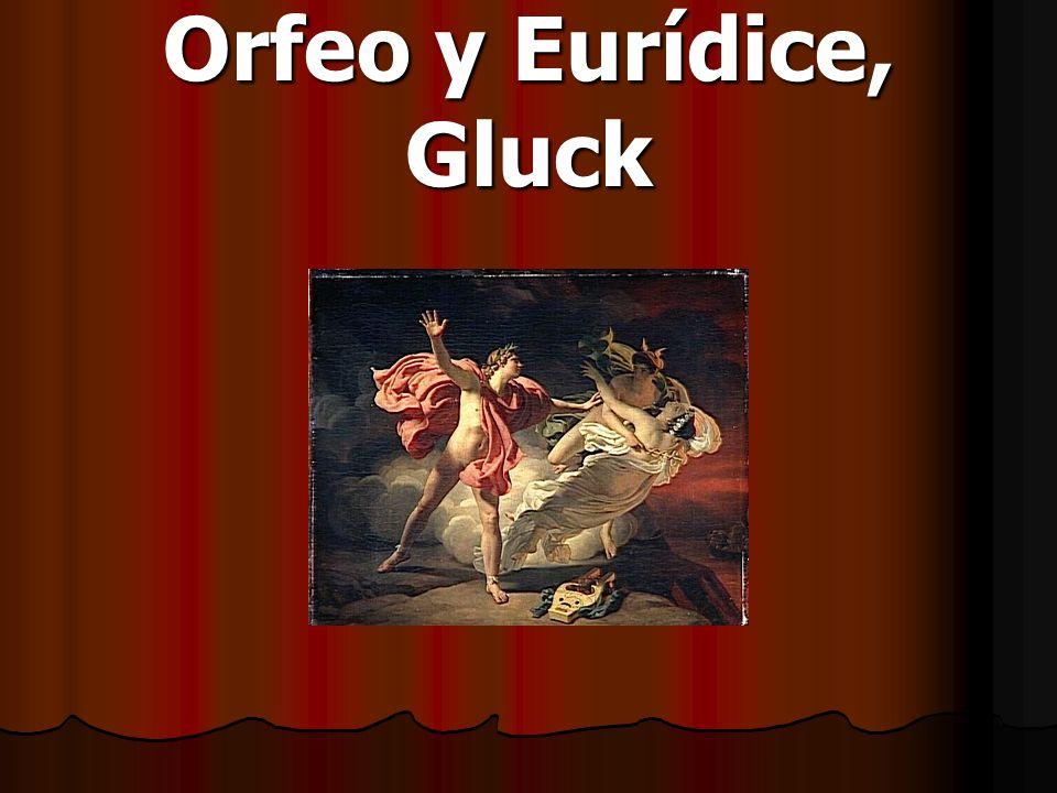 Orfeo y Eurídice, Gluck