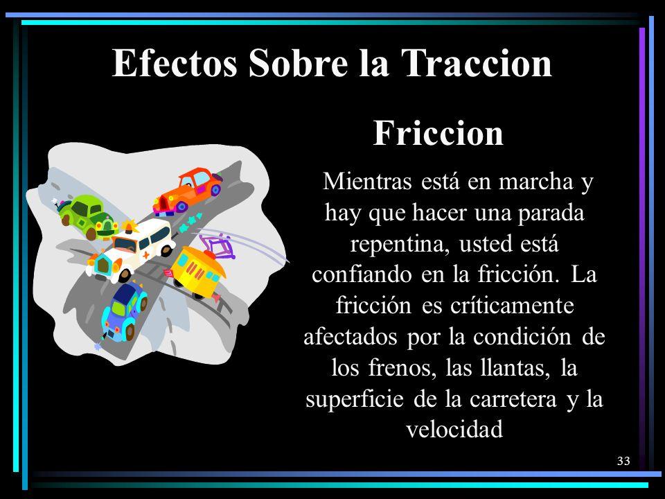 Efectos Sobre la Traccion