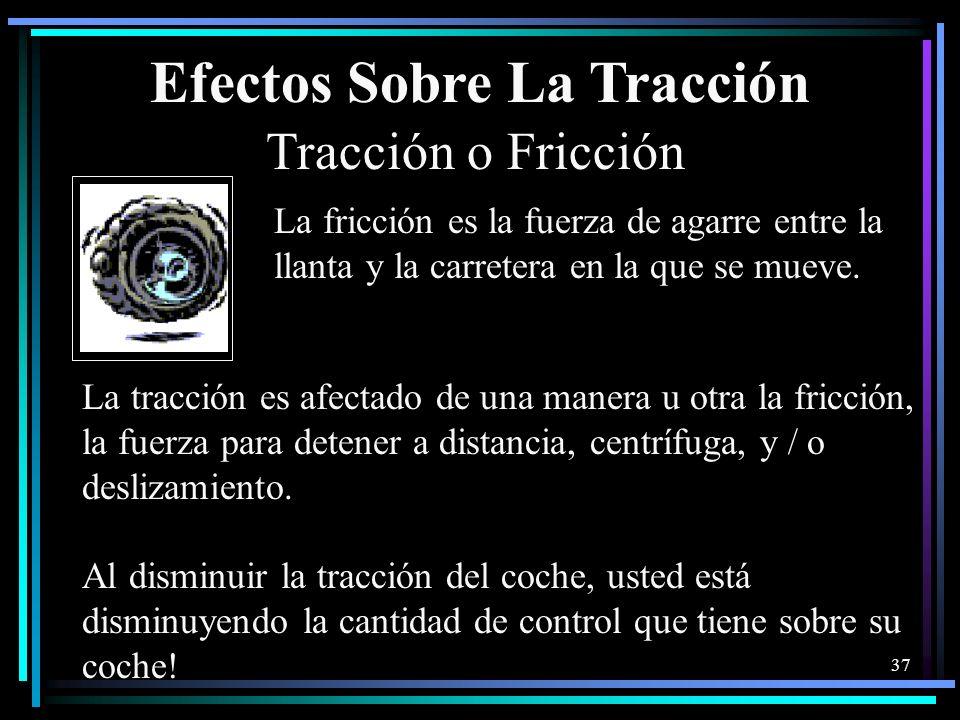 Efectos Sobre La Tracción