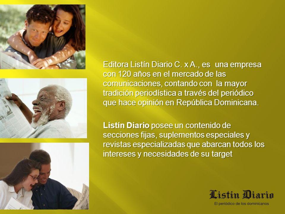 Editora Listín Diario C. x A