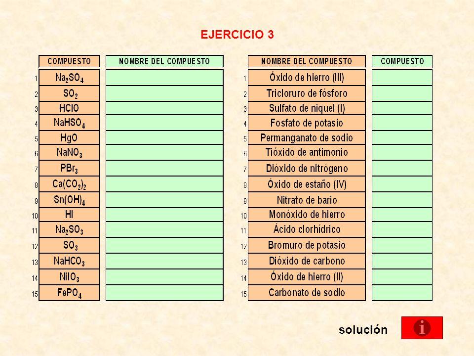 EJERCICIO 3 solución