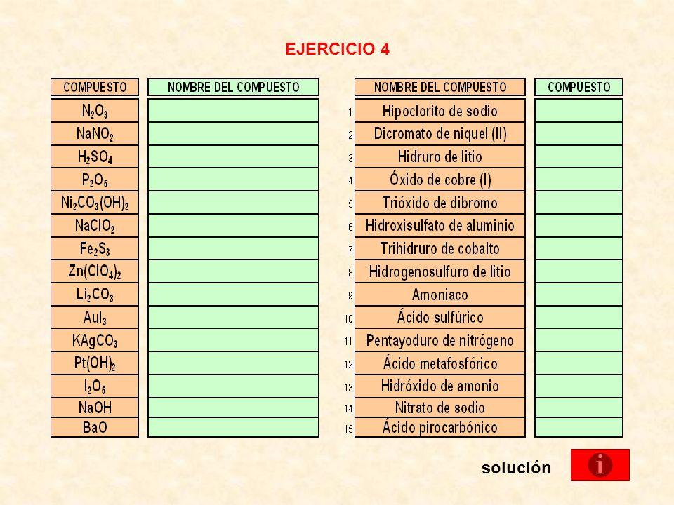 EJERCICIO 4 solución