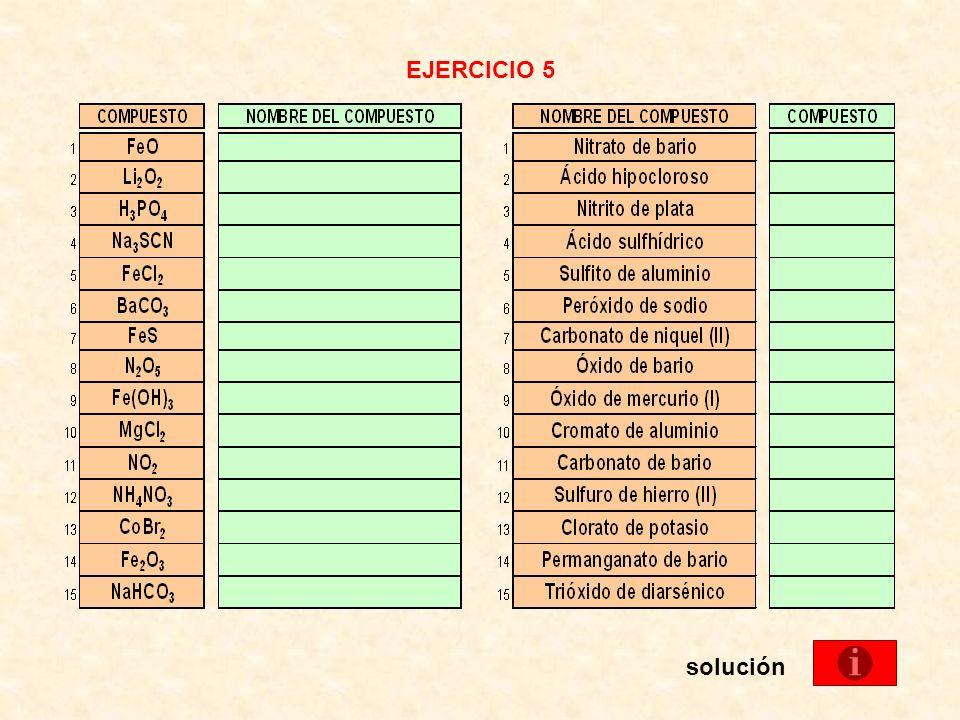 EJERCICIO 5 solución