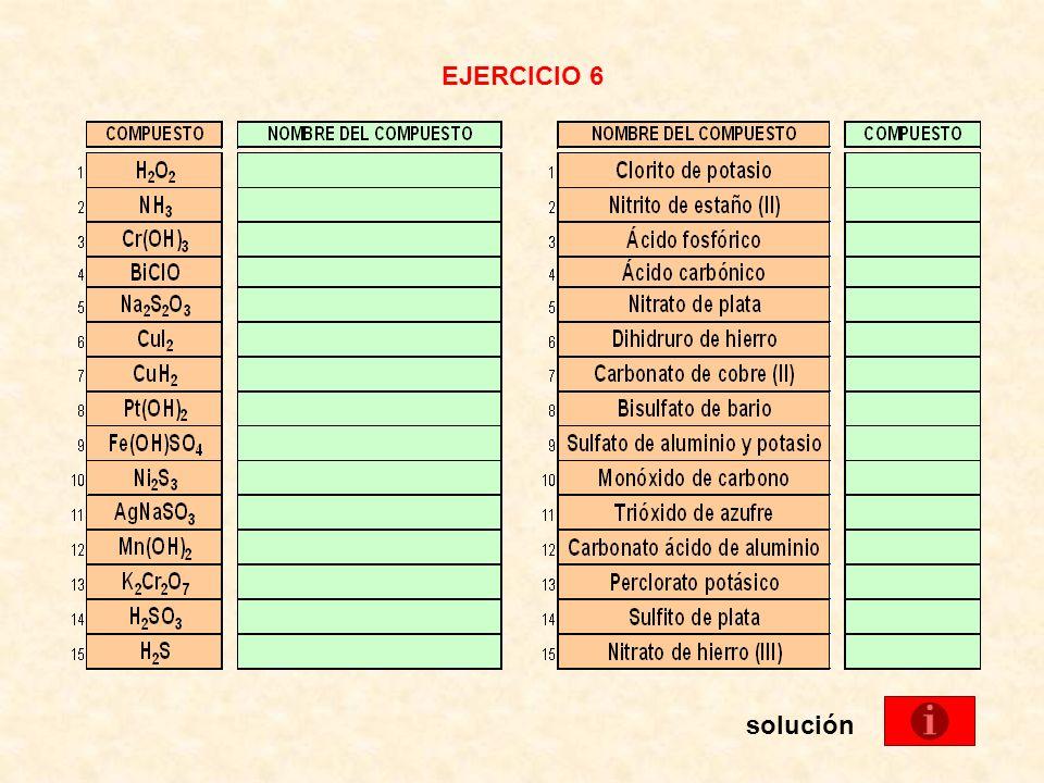 EJERCICIO 6 solución