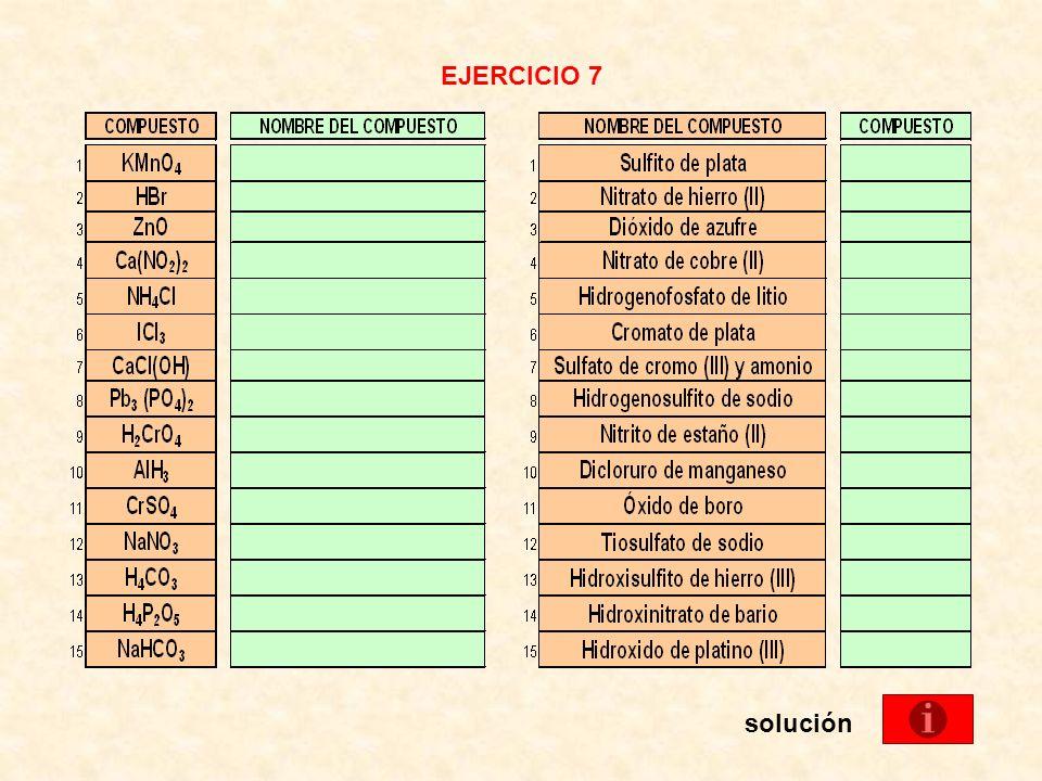 EJERCICIO 7 solución