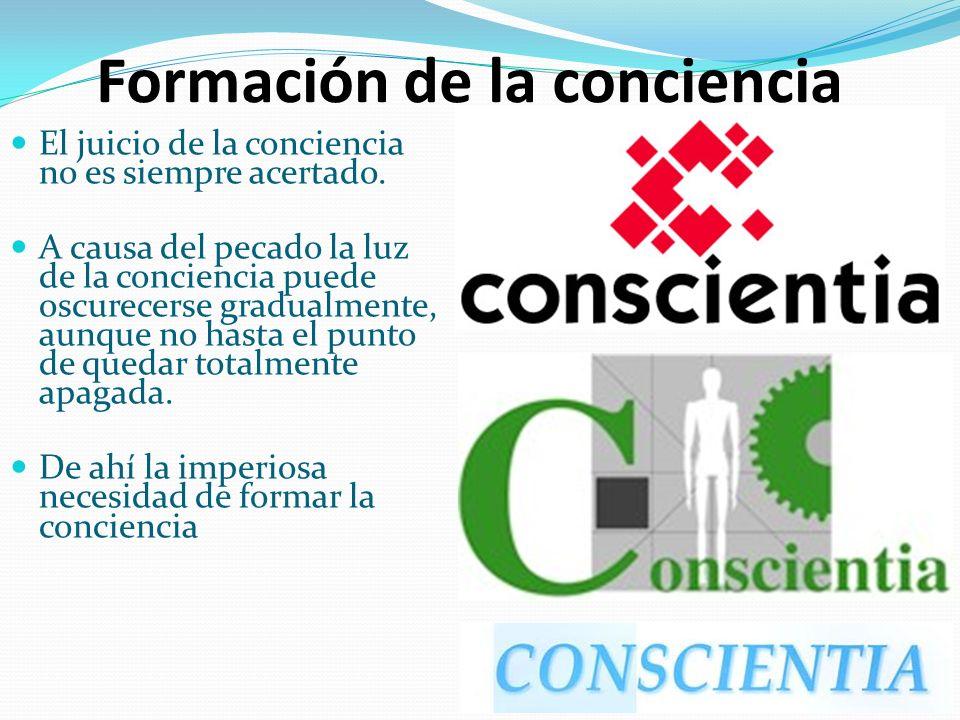 Formación de la conciencia