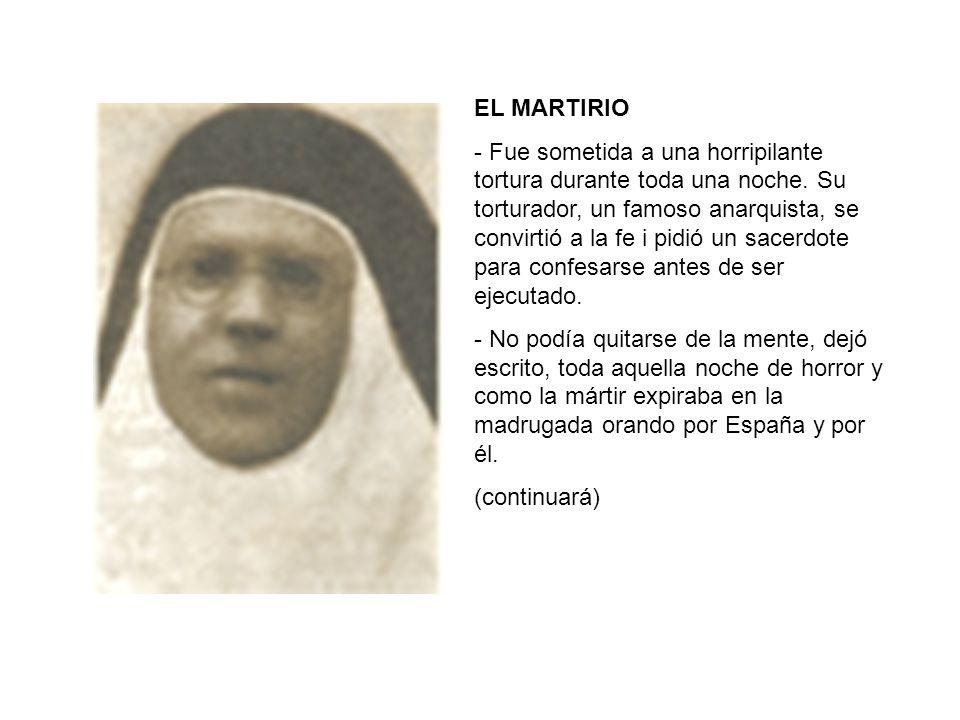 EL MARTIRIO
