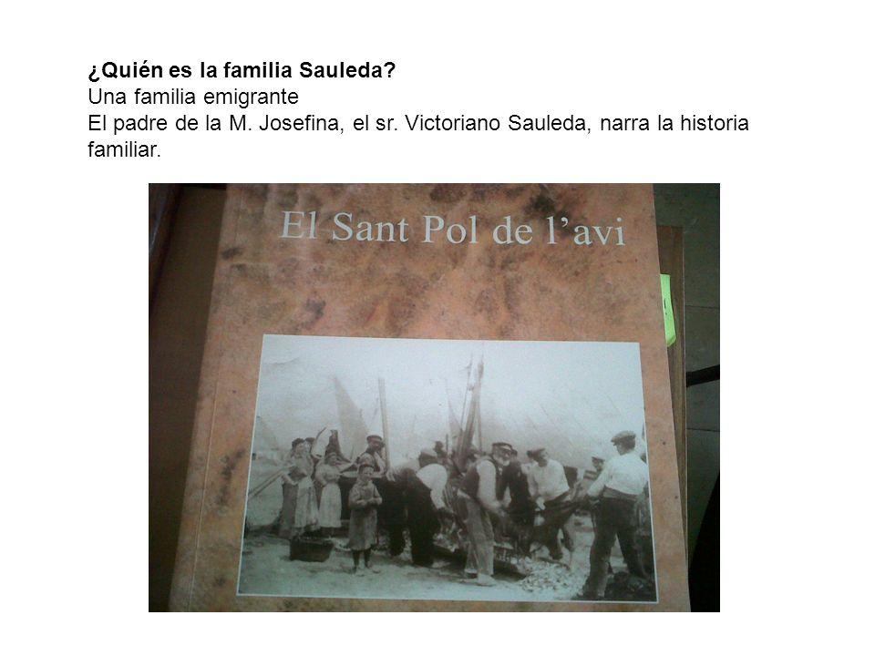 ¿Quién es la familia Sauleda