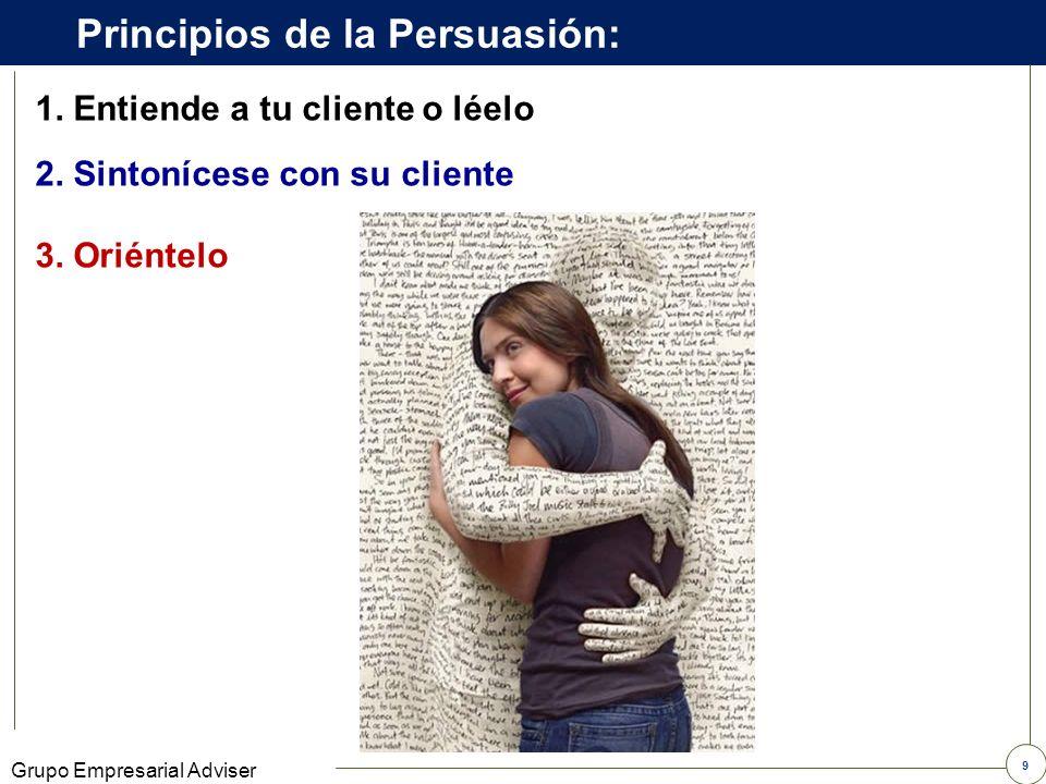 Principios de la Persuasión: