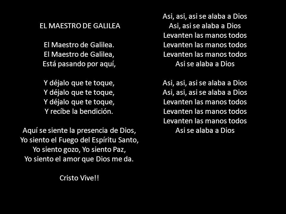 EL MAESTRO DE GALILEA El Maestro de Galilea