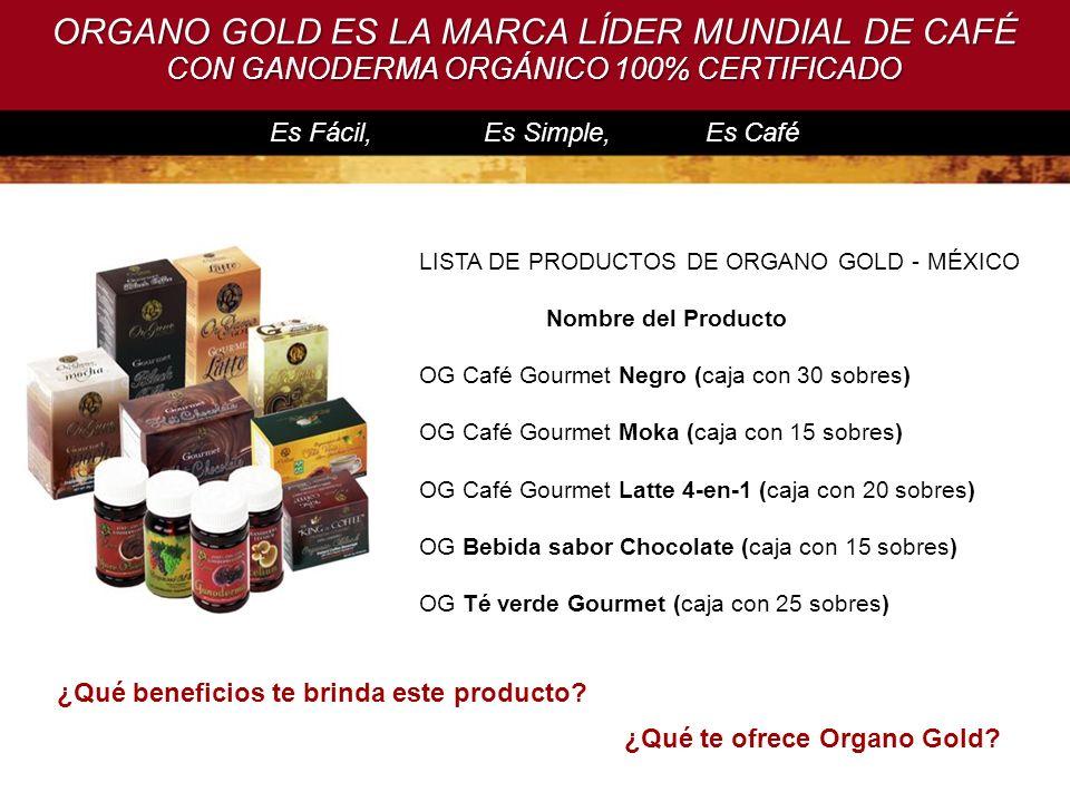 ¿Qué beneficios te brinda este producto ¿Qué te ofrece Organo Gold
