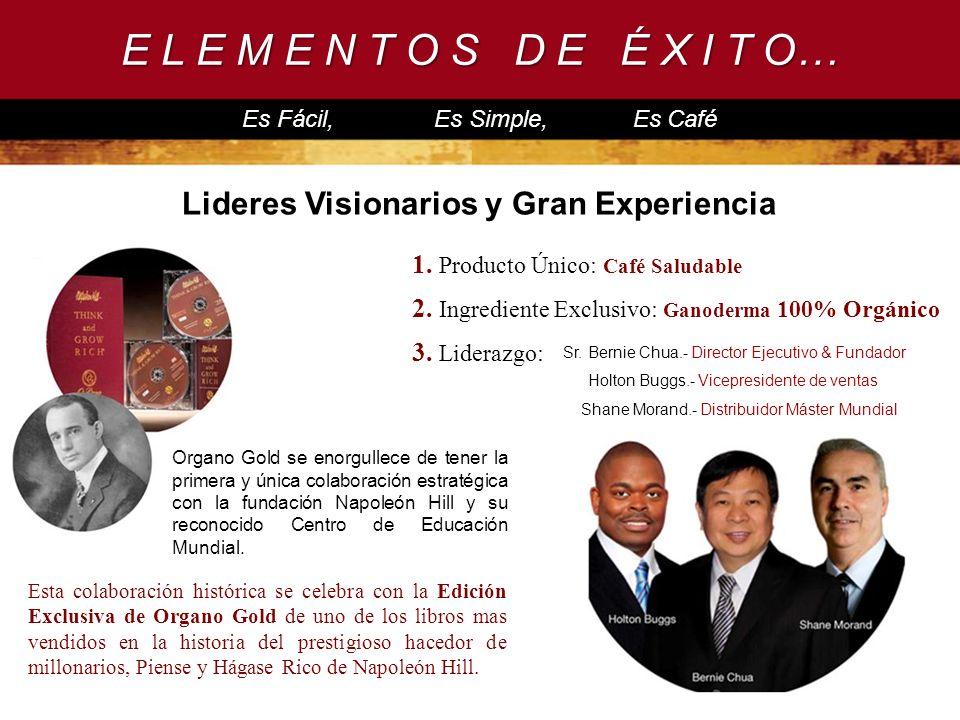 Lideres Visionarios y Gran Experiencia