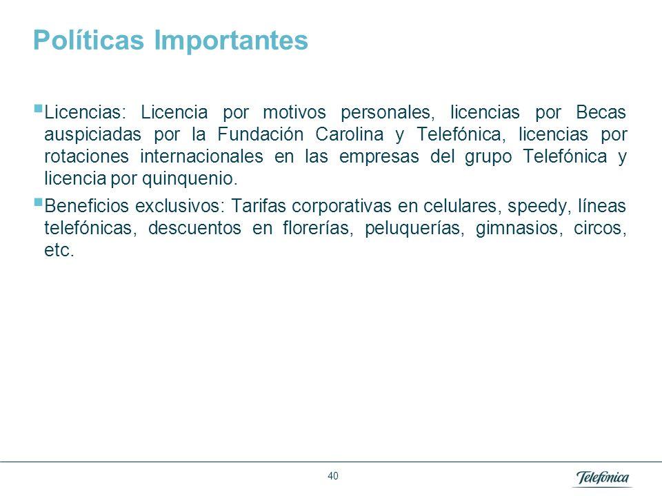 ¿Qué beneficios obtienen los trabajadores mediante las políticas de desarrollo humano que maneja Telefónica del Perú
