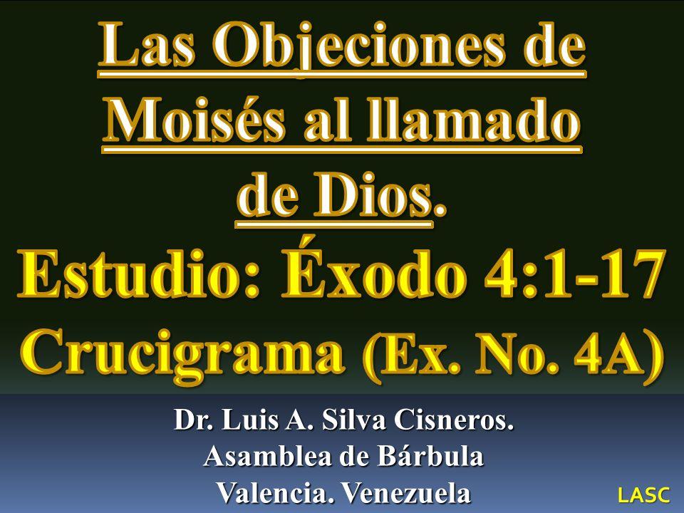Estudio: Éxodo 4:1-17 Crucigrama (Ex. No. 4A)