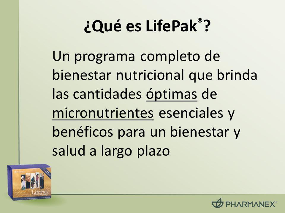 ¿Qué es LifePak®