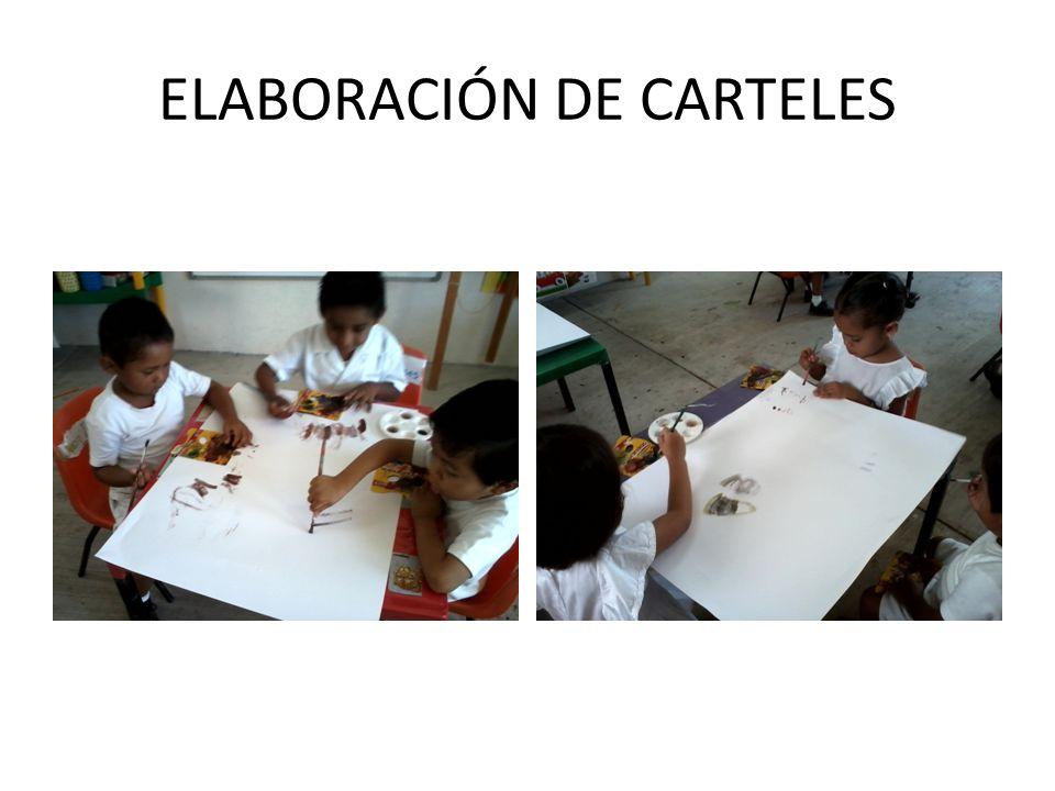 ELABORACIÓN DE CARTELES