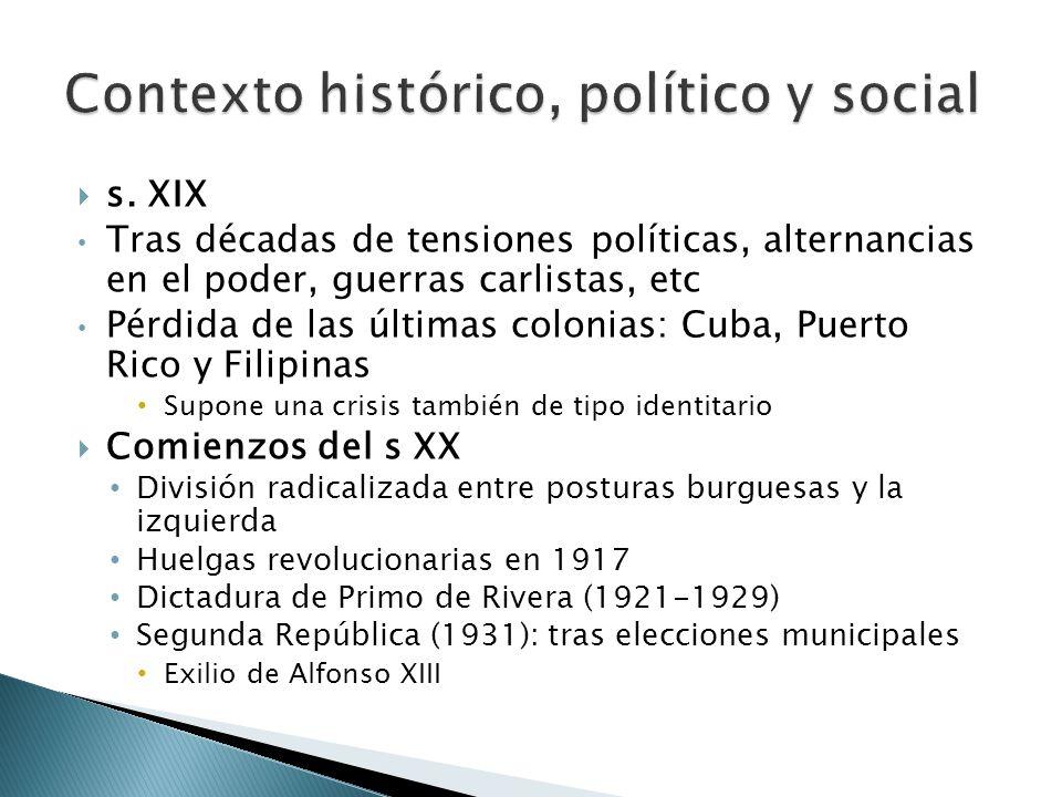 Contexto histórico, político y social