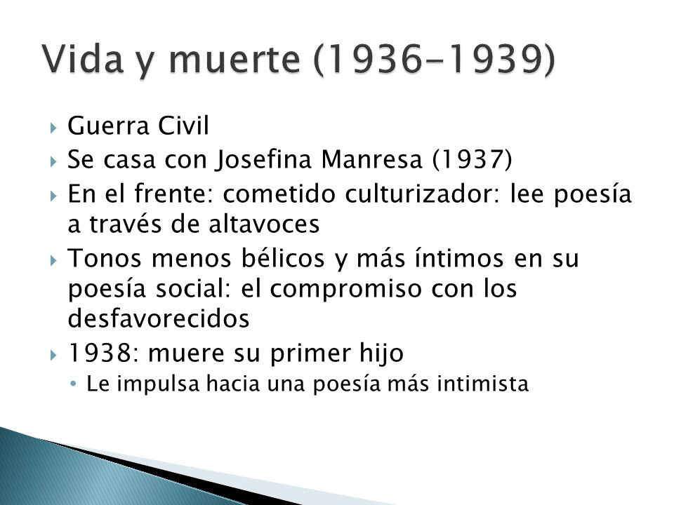 Vida y muerte (1936-1939) Guerra Civil