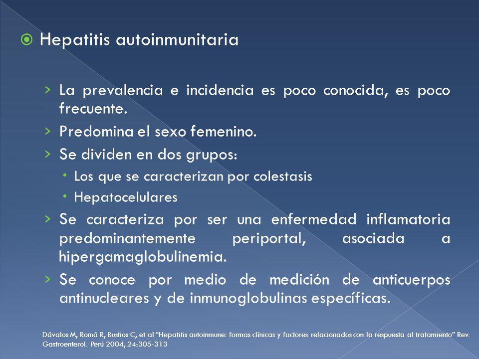 Hepatitis autoinmunitaria