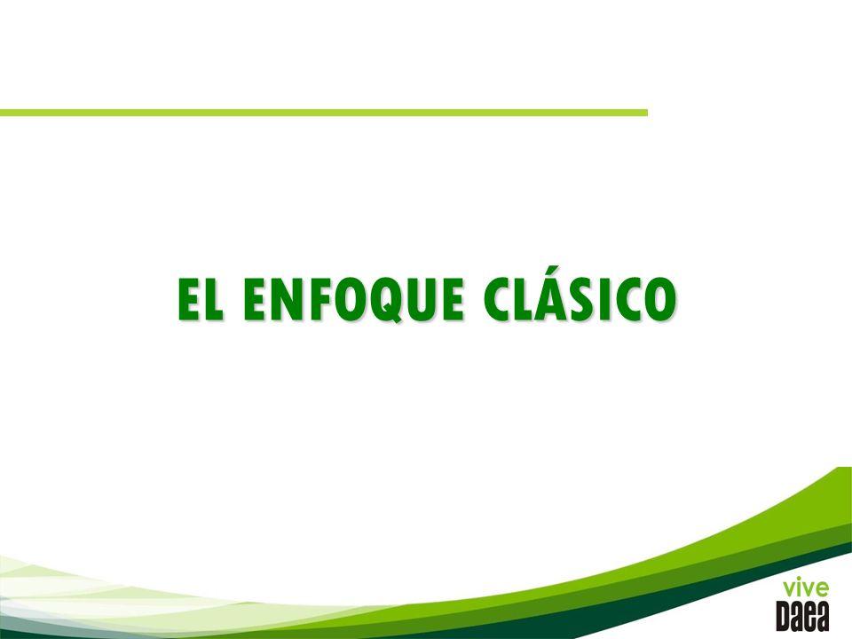 EL ENFOQUE CLÁSICO