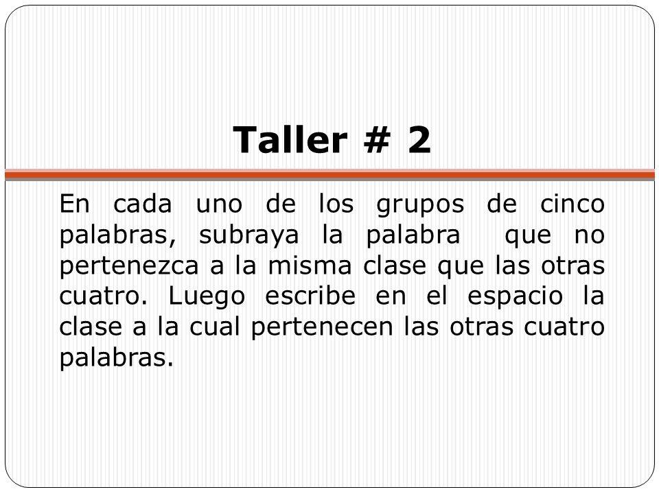 Taller # 2