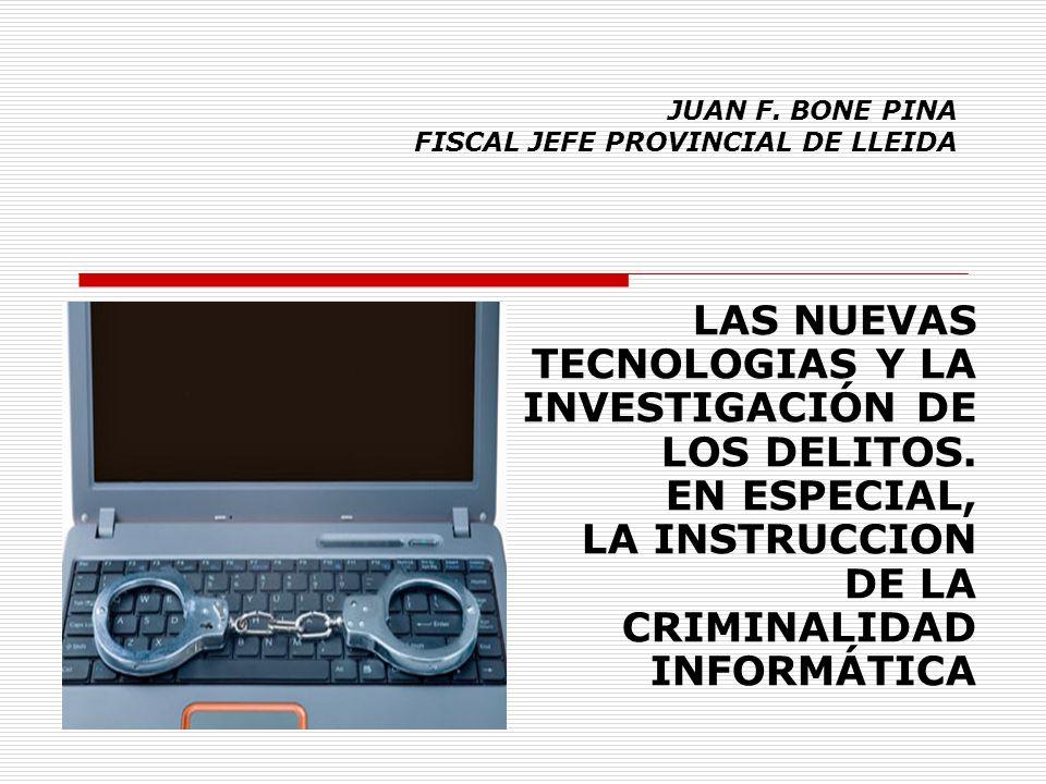 JUAN F. BONE PINA FISCAL JEFE PROVINCIAL DE LLEIDA